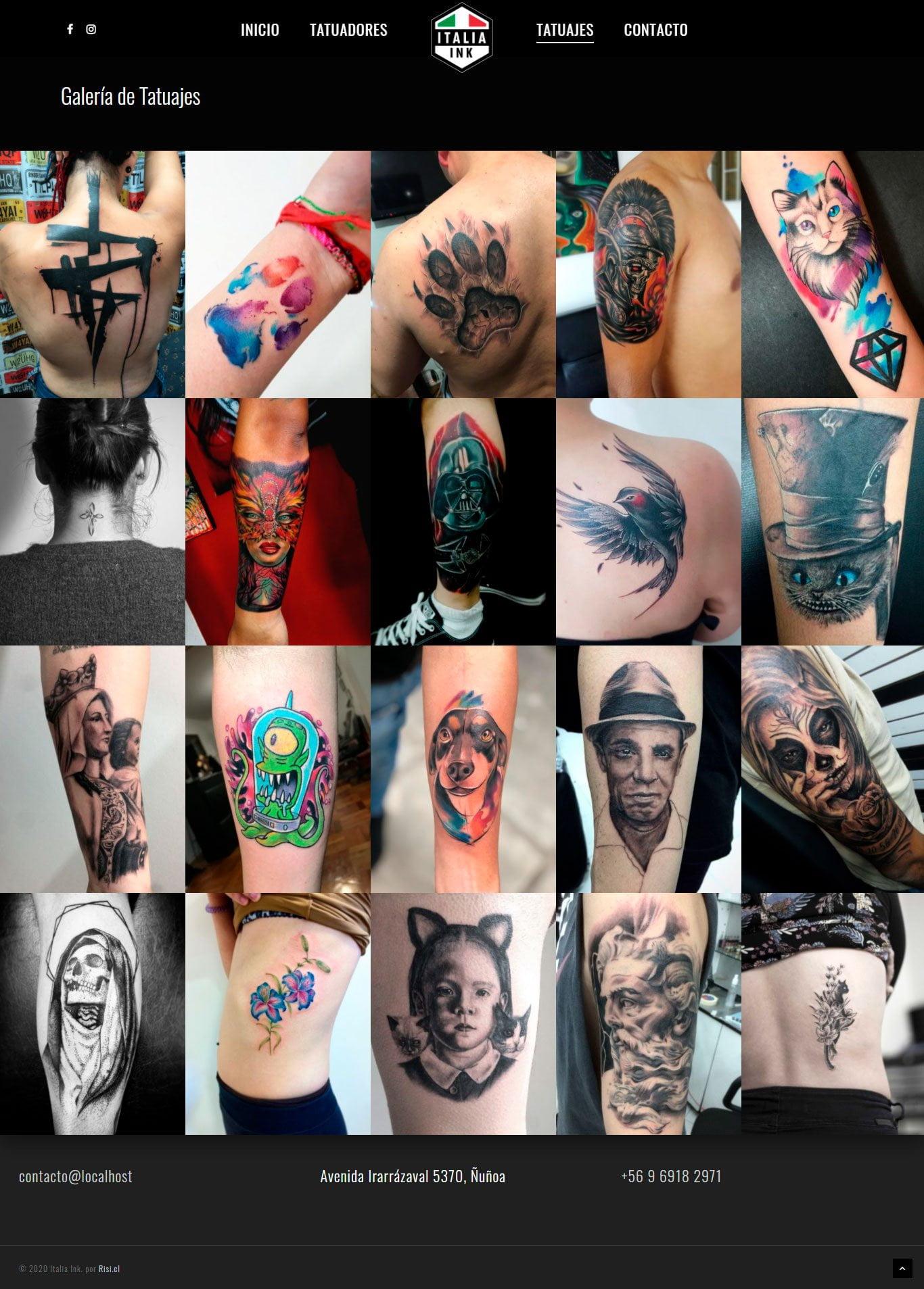 italiaink tatuajes