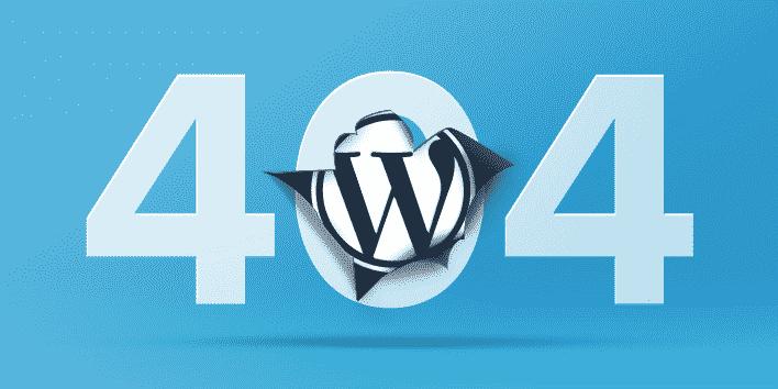 error 404 wordpress