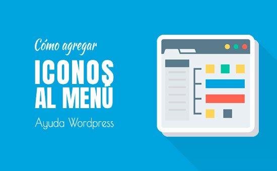 Cómo agregar íconos de imagen en menús de navegación en WordPress