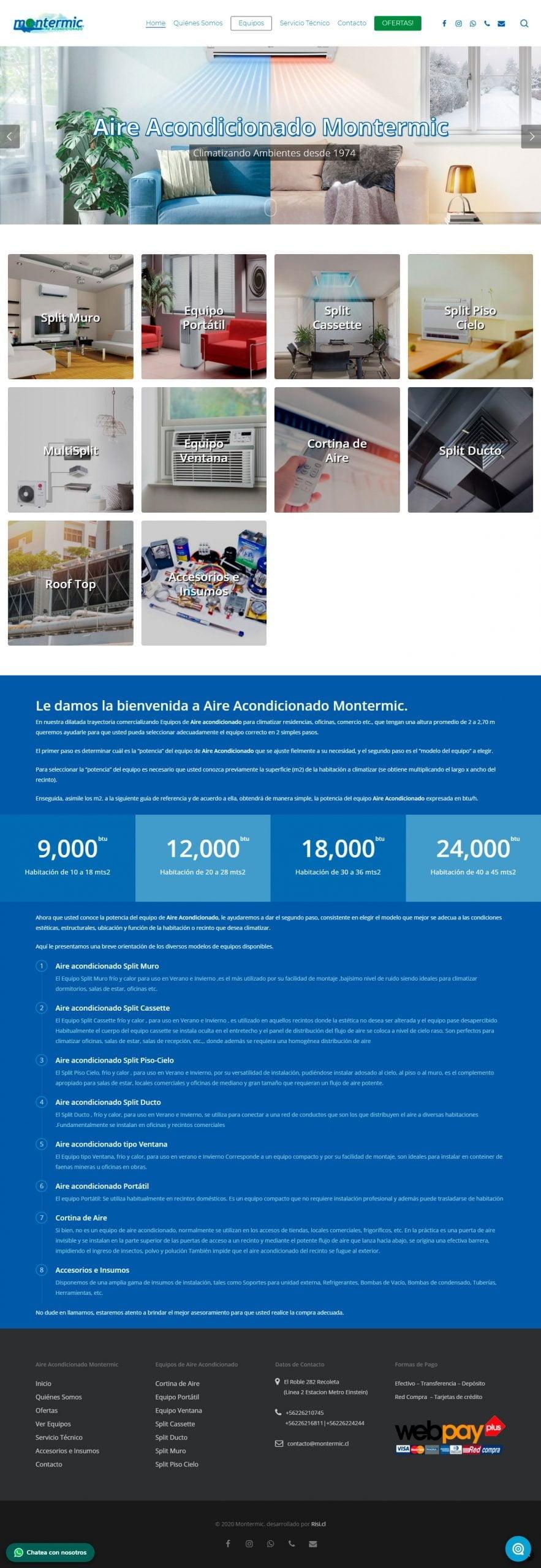 Montermic - Aire Acondicionado