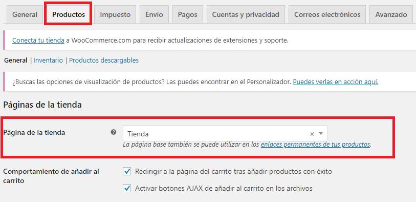 Cómo crear las páginas de WooCommerce manualmente