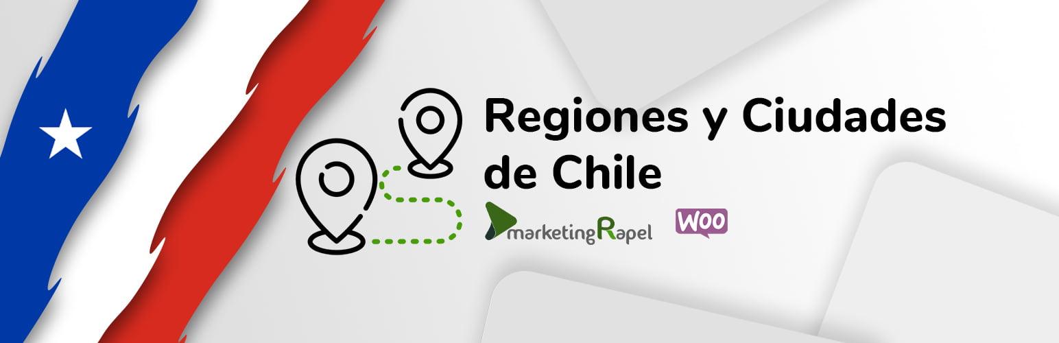 Regiones y Ciudades de Chile para Woocommerce